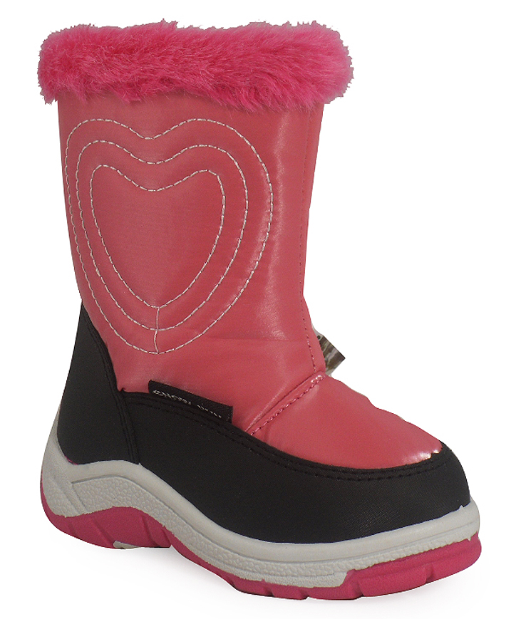 new pink baby snow winter moon boots sz 3 10 ebay